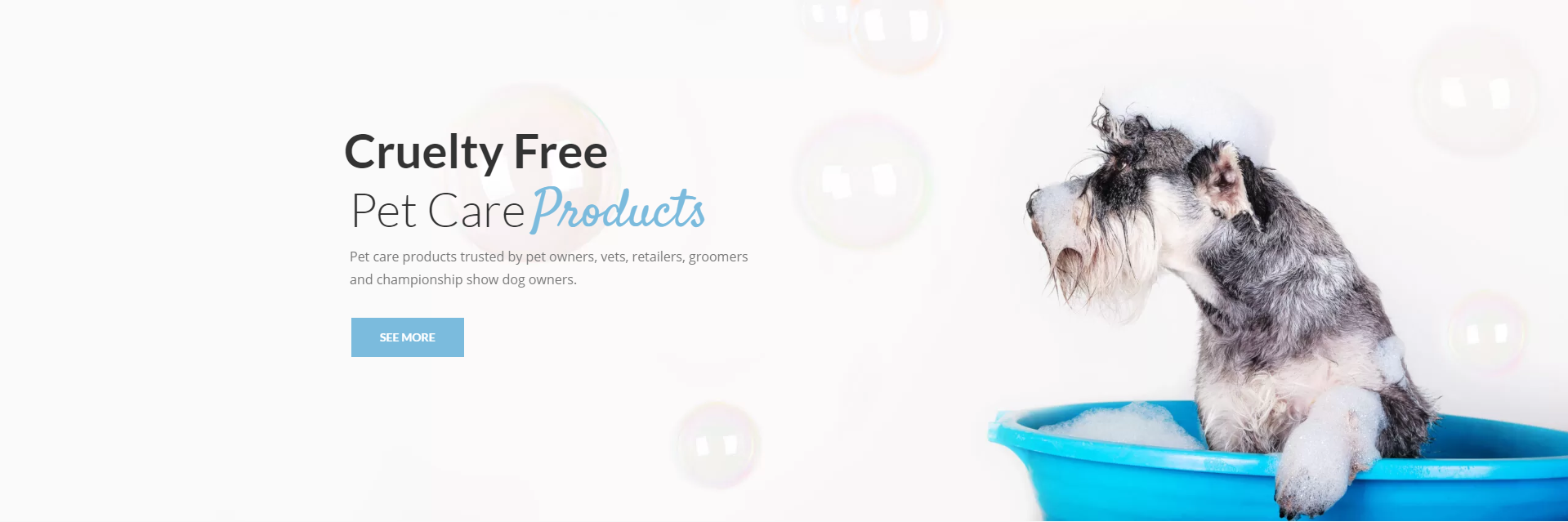 Cruelty Free Pet Care Products